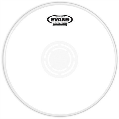 "Evans B12HW 12"" Heavyweight Snare Batter Drum Head B12HW"