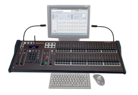 Leprecon Version III LPC-96V LPC Series 96-Channel Lighting Console with Encoders LPC96-V3