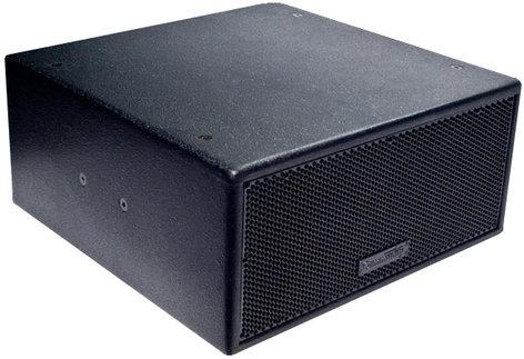 "Community VLF208LV-BI Dual 8"" Compact Installation Subwoofer in Black VLF208LV-BI"