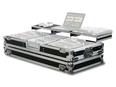 Odyssey FZGSPBM12W  Remixer Glide Style Series Turntable DJ Coffin Case FZGSPBM12W