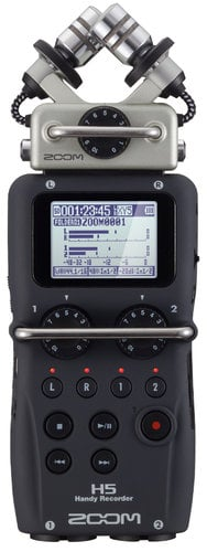 Zoom H5 4 Channel Handheld Recorder with X/Y Capsule H5