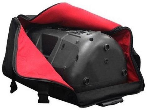 """Odyssey BRLSPKLHW  Redline Series Universal Speaker Bag for 15"""" Molded Speakers with Pullout Handle & Wheels BRLSPKLHW"""