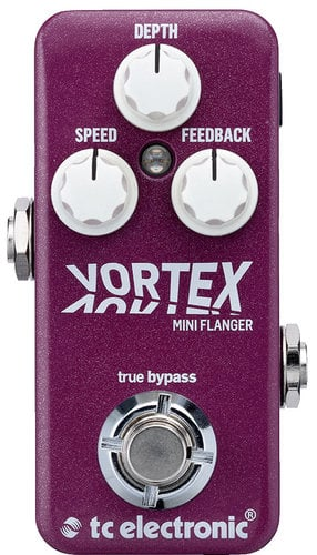 TC Electronic VORTEX-MINI-FLANGER Vortex Mini Flanger Miniature Flanger Guitar Pedal VORTEX-MINI-FLANGER