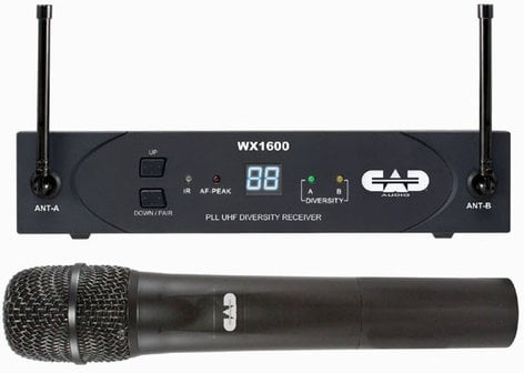 CAD Audio WX1600 StagePass Wireless Handheld Microphone System WX1600