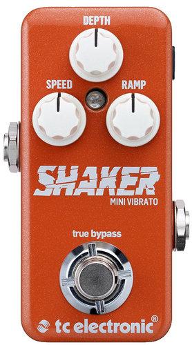 TC Electronic Shaker Mini Miniature Vibrato Guitar Pedal SHAKER-MINI-VIBRATO