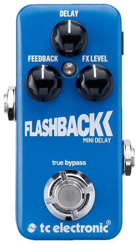 TC Electronic Flashback Mini Miniature Delay Guitar Pedal FLASHBACK-MINI-DELAY