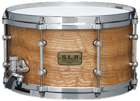 "Tama S.L.P. G-Maple Snare Drum 7x13"" Snare, LGM137STA LGM137STA"