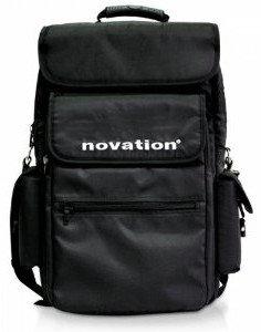 """Novation NOVATION-BAG-49-BLK Soft Carry Bag for Novation 49 Key Controllers and 15"""" Laptops, Black NOVATION-BAG-49-BLK"""