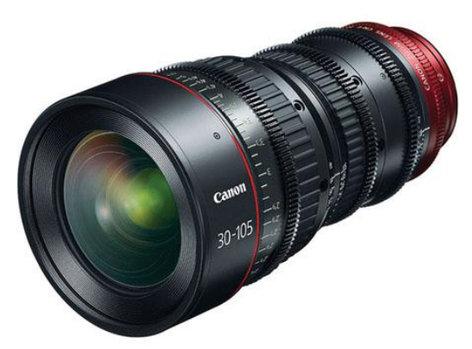 Canon 7623B002 CN-E30-105mm T2.8 L S Cinema Zoom Lens 7623B002