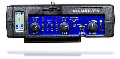 BeachTek DXA-SLR-ULTRA Active DSLR-XLR Adapter with Rails DXA-SLR-ULTRA