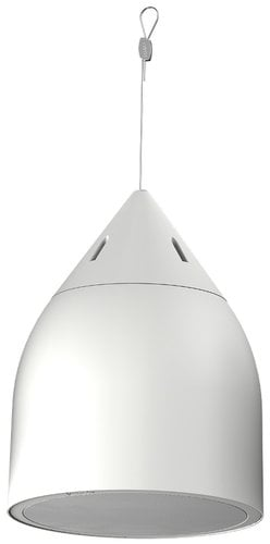 "Community DP8-W 2 Way 8"" High Output Pendant Loudspeaker in White, 8 ohm or 70V Operation DP8-W"