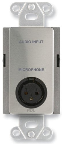 Radio Design Labs DS-J1  Microphone XLR to Terminal Block Input Assembly DS-J1