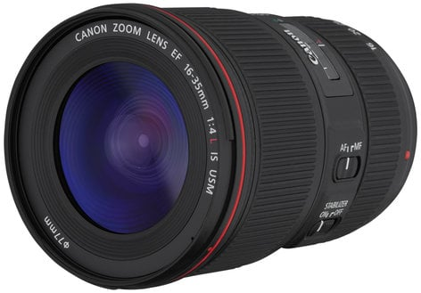Canon 9518B002 EF 16-35mm f/4L IS USM Ultra-Wide Zoom Lens 9518B002