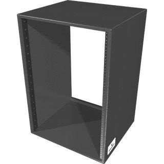 Grundorf Corp RSB-16DB  16RU Studio Series Rack in Black RSB-16DB