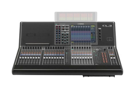 Yamaha CL3 64 Mono + 8 Stereo Digital Mixer without Meter Bridge CL3