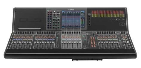 Yamaha CL5 72+8 Digital Mixing Console with Dante Networking and Built-In Meter Bridge CL5