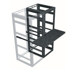 "Middle Atlantic Products WS3-M26-24  24"" 3-Bay MRK Series Writing Shelf WS3-M26-24"