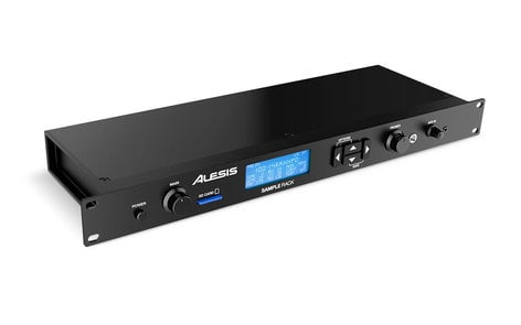 Alesis Sample Rack Rackmount Percussion Module with Onboard Sound Storage SAMPLE-RACK