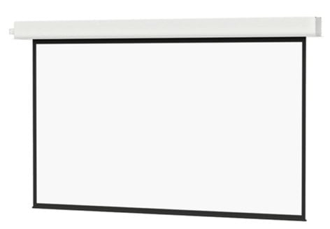 "Da-Lite 70136LS  72 1/2"" x 116"" 16:10 Wide Format Advantage Electrol Ceiling Recessed Electric Screen with Matte White Surface 70136LS"