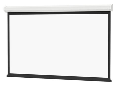 """Da-Lite 70218L 57 1/2"""" x 92"""" 16:10 Wide Format Cosmopolitan Electrol with Matte White Surface and Low Voltage Control 70218L"""