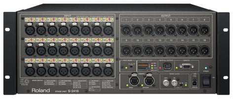 Roland System Group S-2416 24 x 16 Digital Snake Stage Unit S2416
