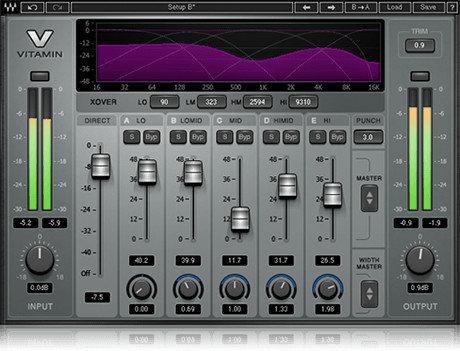 Waves Vitamin Sonic Enhancer Plugin VTMSG