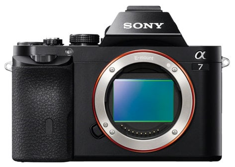 Sony ILCE7/B a7 Full Frame Mirrorless DSLR Camera Body ILCE7/B