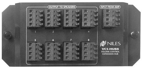 TecNec VCS HUB8 1x8 Speaker Distribution Hub VCSHUB8