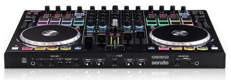 Reloop TM8 Terminal Mix 8 4-Deck USB Serato DJ Controller with Serato DJ TM8