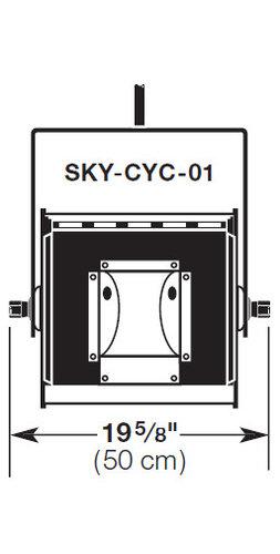 Altman SKY-CYC-01 1 Section SKY CYC SKY-CYC-01