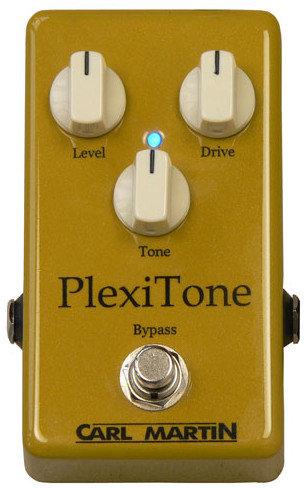 Carl Martin Single Channel PlexiTone Overdrive Effect Pedal PLEXI-TONE-S