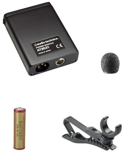 Audio-Technica AT803 Omnidirectional Miniature Lavalier Condenser Microphone AT803