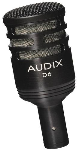 Audix D6-KD Drum Kick Mic W/Stand D6-KD