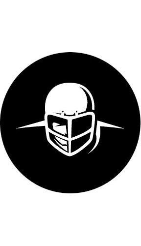 Rosco Laboratories 78645 Football Helmet Pattern Gobo 78645-ROSCO