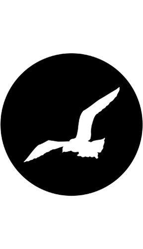 """Rosco 78095 """"Gull"""" Pattern Gobo 78095"""