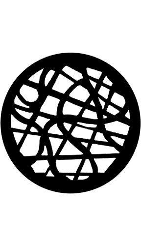 "Rosco Laboratories 77747 ""Tangle"" Pattern Gobo 77747"