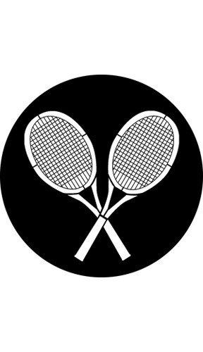 Rosco Laboratories 76522 Tennis Rackets Gobo 76522