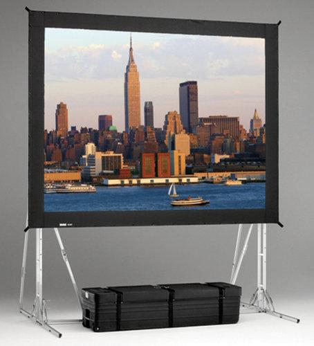 Da-Lite 95725  11' x 19' High Contrast Da-Tex Fast-Fold Truss Frame Screen 95725