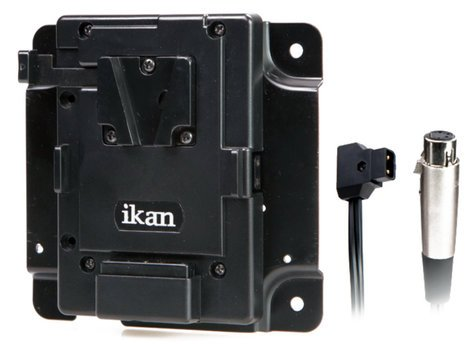 ikan Corporation PBK-S-X Pro Battery Adapter Kit for V-Mount with XLR P-Tap PBK-S-X