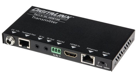 Intelix DL-HDE100 HDMI Over Twisted Pair Set with Power, Control and Ethernet DL-HDE100