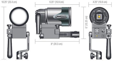 Lowel Light Mfg G5-10DA PRO Power AC Daylight LED G5-10DA