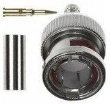 Amphenol 112521  75 Ohm BNC STR Crimp Coaxial Plug 112521