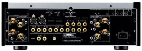 Yamaha A-S2100 Hi-Fi Integrated Stereo Amplifier, 160 Watts Per Channel @ 4 ohms, Silver A-S2100SL