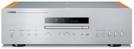Yamaha CD-S2100 Hi-Fi Integrated CD Player with USB DAC Audio, Silver CD-S2100SL