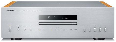 Yamaha CD-S2100 Hi-Fi Integrated CD Player with USB DAC Audio, Silver CD-S2100SL