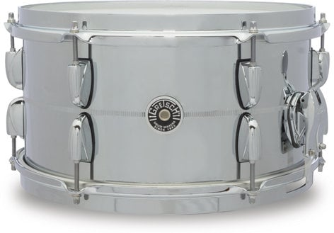 "Gretsch Drums GB4163S 7"" x 13"" Brooklyn Series Chrome Over Steel Snare Drum GB4163S"