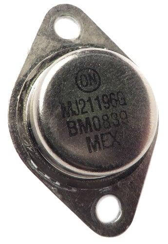 Yorkville 6909 Transistor MJ21196 NPN TO3 6909