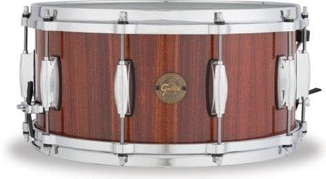 """Gretsch Drums S1-6514-RW  6.5""""x14"""" Gold Series 10 Lug 9 Ply Rosewood Snare Drum S1-6514-RW"""