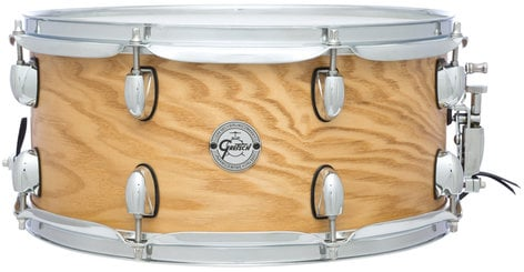 "Gretsch Drums S1-6514-ASHSN 6.5""x14"" Silver Series 7 Ply 8 Lug Ash Snare Drum S1-6514-ASHSN"