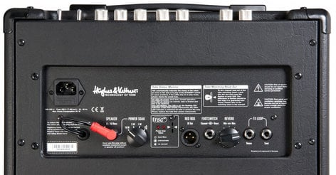 """Hughes & Kettner Tubemeister 18/12 18W 2-Channel 1x12"""" Tube Combo Guitar Amplifier with Case TM18/12"""